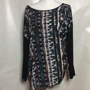 Tops - Printed design blouse